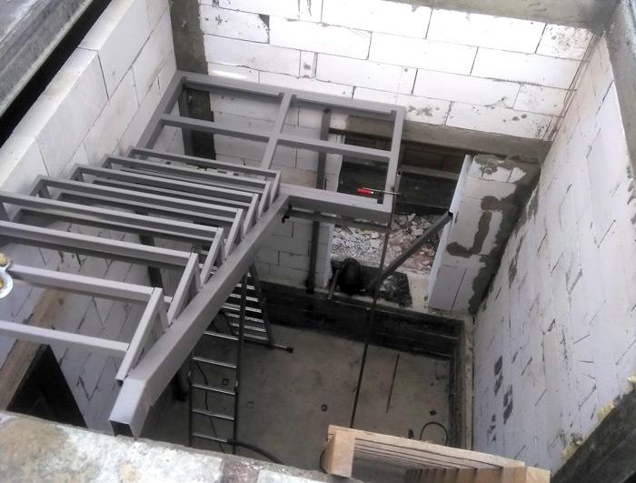 Лестница на второй этаж картинка 131