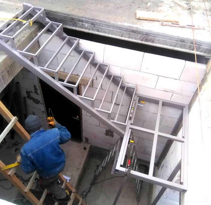 Лестница на второй этаж картинка 127