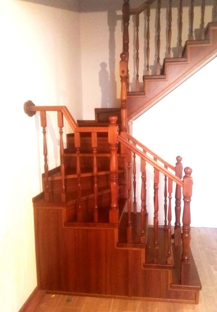 Фото Закрытый-тип-лестницы-обшитая-2