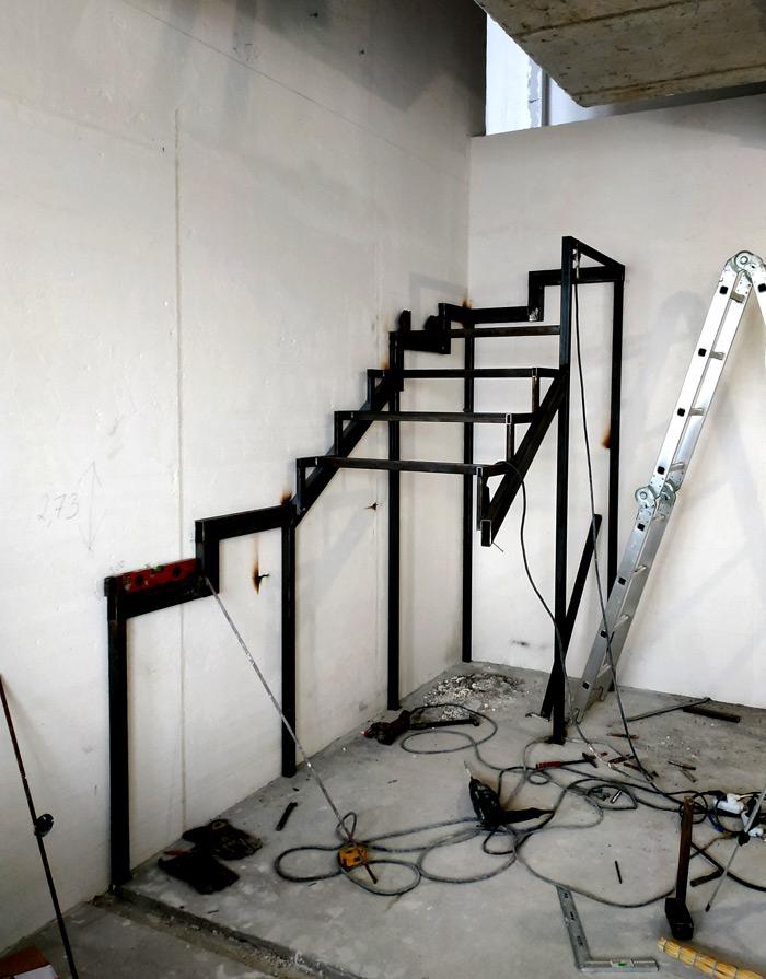 Металлическая лестница Балковская картинка 10