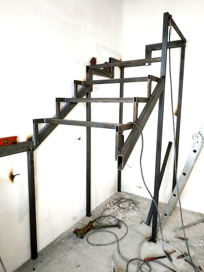 Металлическая лестница Балковская картинка 11