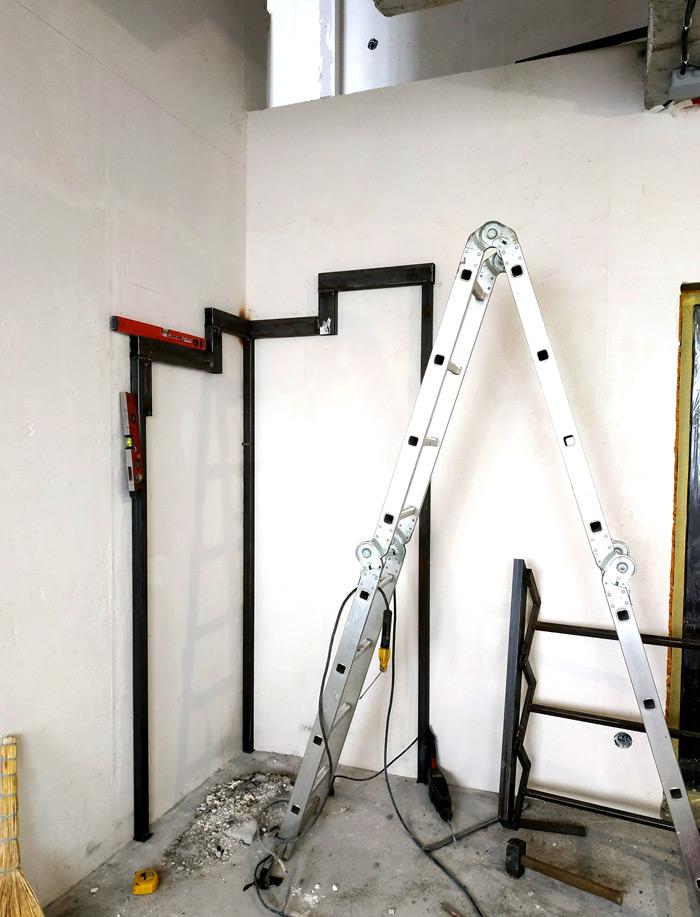 Металлическая лестница Балковская картинка 13