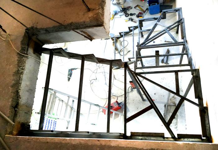 Металлическая лестница Балковская картинка 3