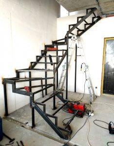 Металлическая лестница Балковская картинка 6