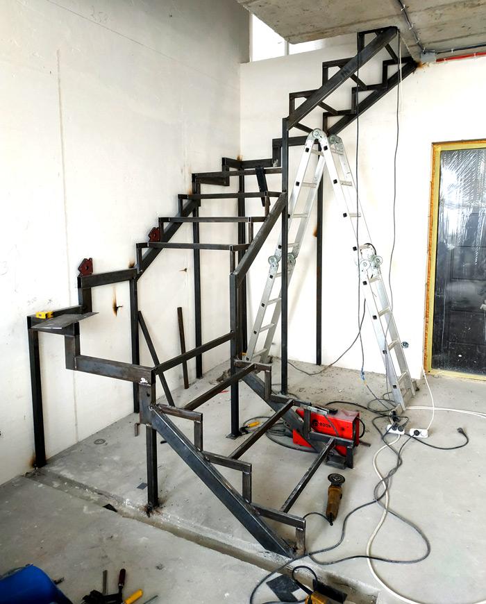 Металлическая лестница Балковская картинка 7