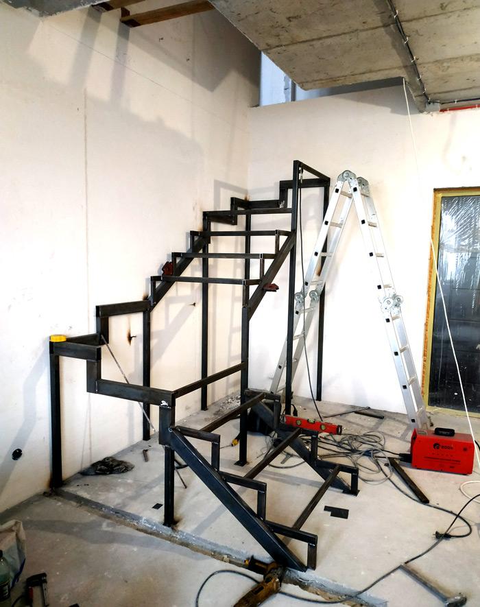 Металлическая лестница Балковская картинка 8