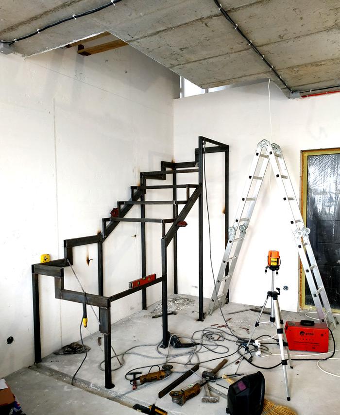 Металлическая лестница Балковская картинка 9