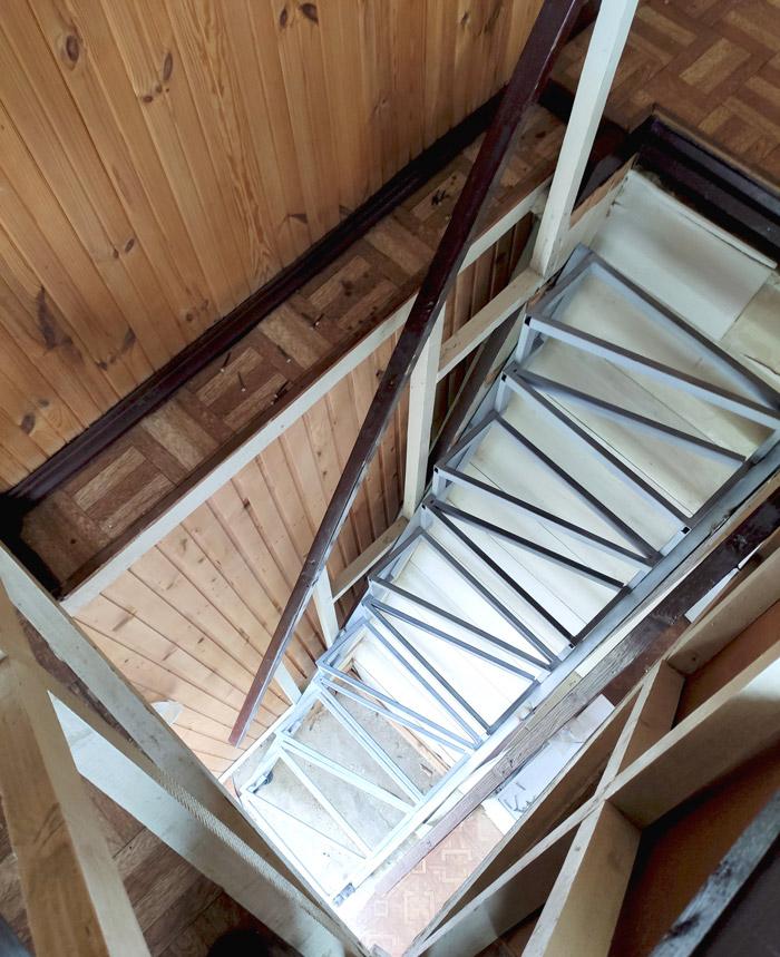 """Лестница по типу """"гусиного шага"""" фото 3"""