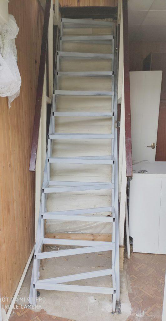 """Лестница по типу """"гусиного шага"""" фото 6"""