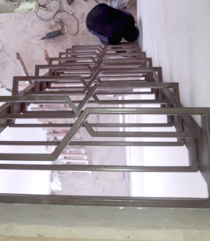 """Лестница по типу """"гусиного шага"""" фото 1"""